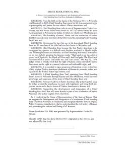 Kansas House Resolution 6042