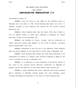 NE Legislative Resolution 171