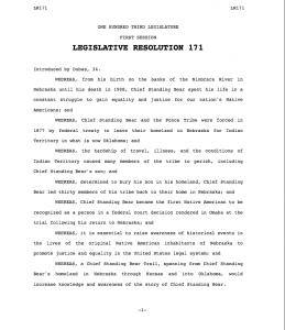 NE Legislative Resolution 171